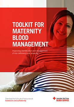 Toolkit for Maternity Blood Management | Australian Red Cross Blood